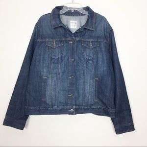 Old Navy Jean Jacket Plus Size 2X
